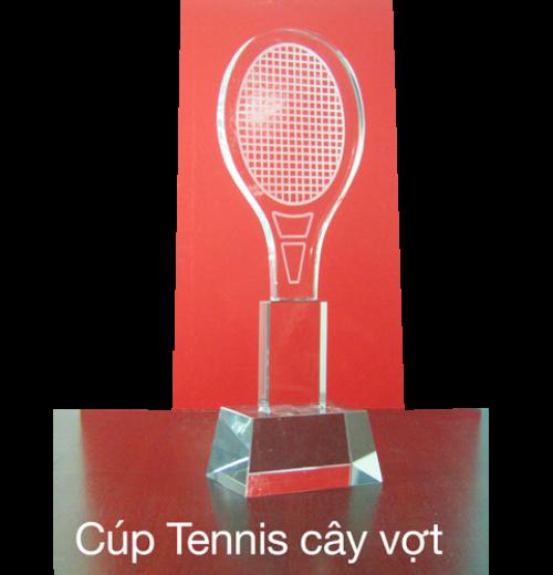 Cúp tennis cây vợt